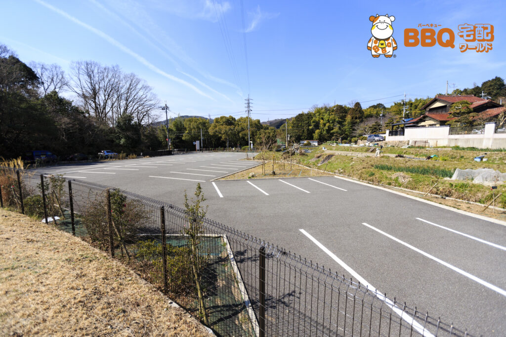 高槻市立摂津峡青少年キャンプ場駐車場