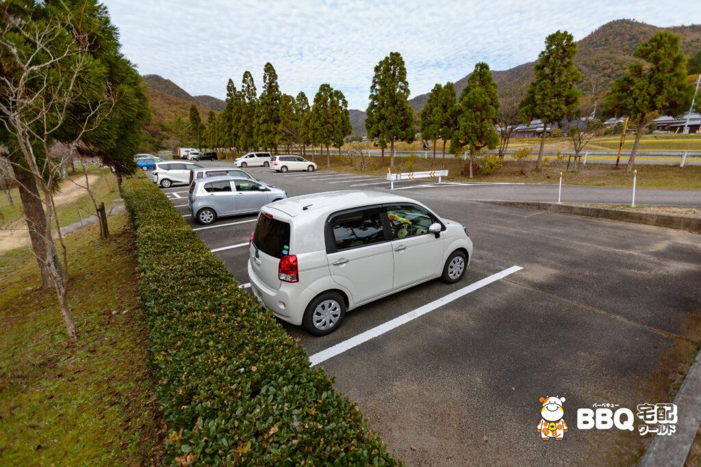 下青野公園の駐車場