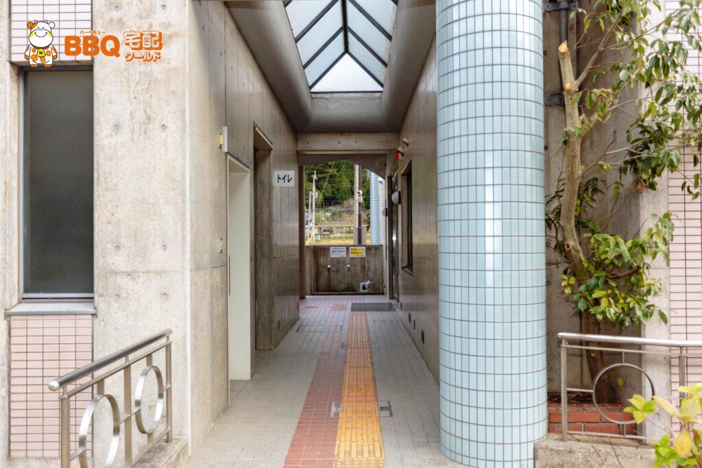 下青野公園のトイレ