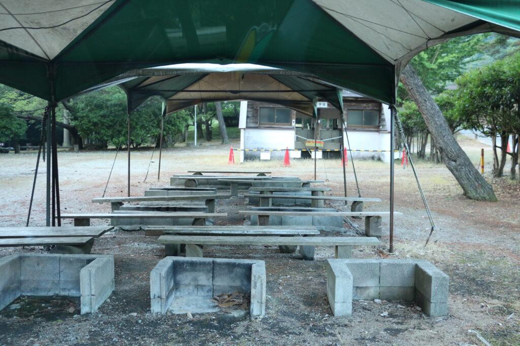 グリーンエコー笠形のキャンプ場
