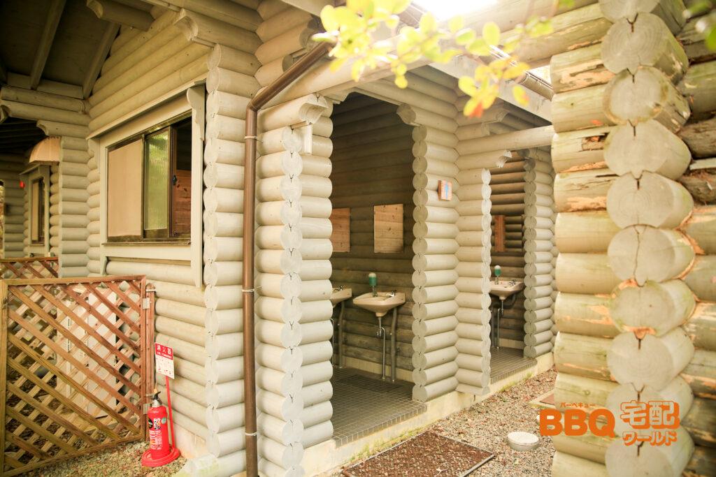 三木山森林公園BBQ広場のトイレ