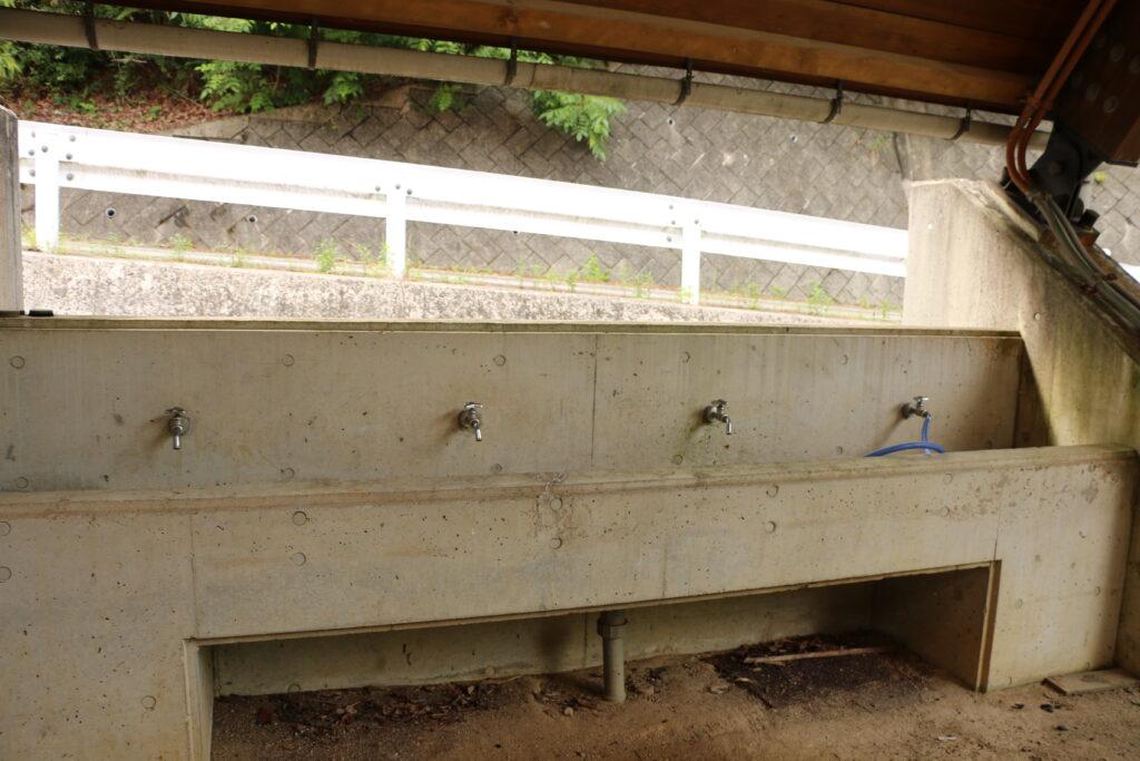 リフレッシュパーク市川BBQふれあいドーム洗い場