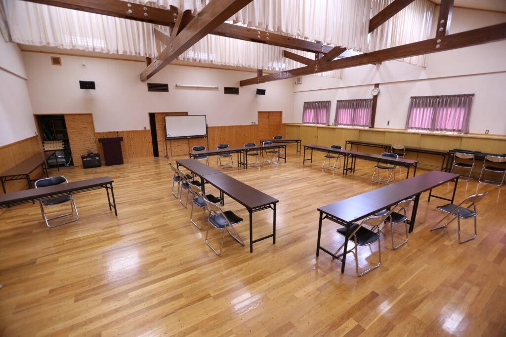 リフレッシュパーク市川の研修室