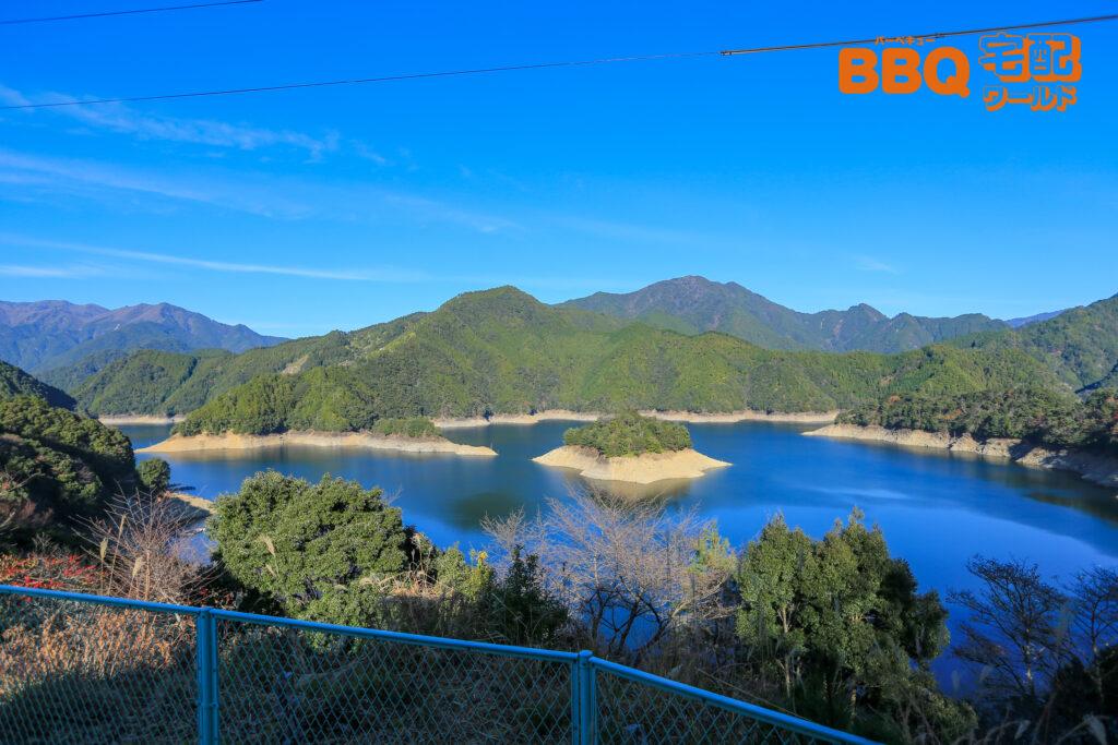 北山スポーツ公園平成の森コテージ眺め