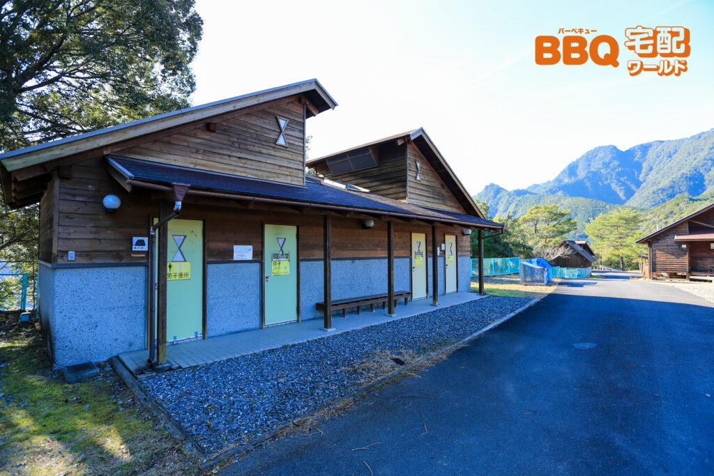 下北山スポーツ公園平成の森のトイレ