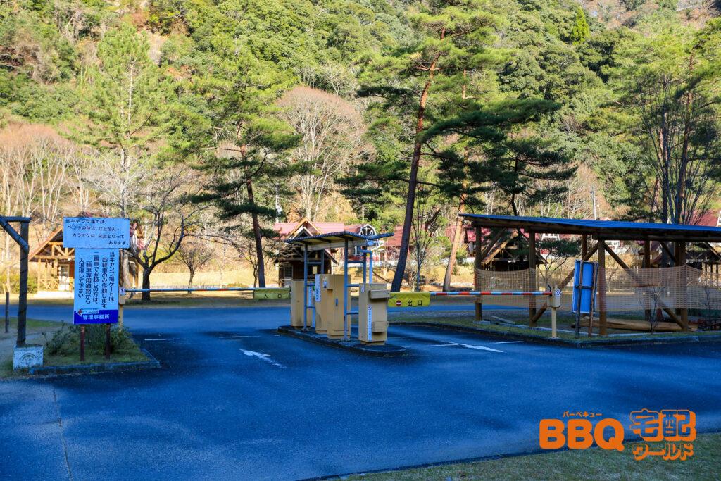 下北山スポーツ公園駐車場ゲート