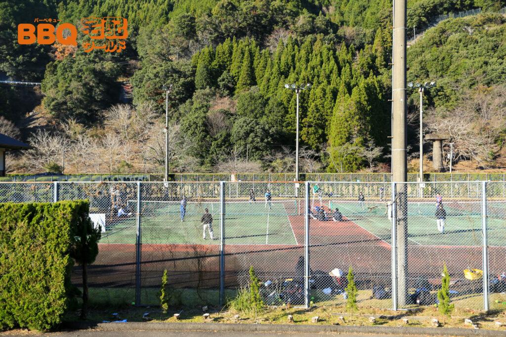 下北山スポーツ公園テニスコート