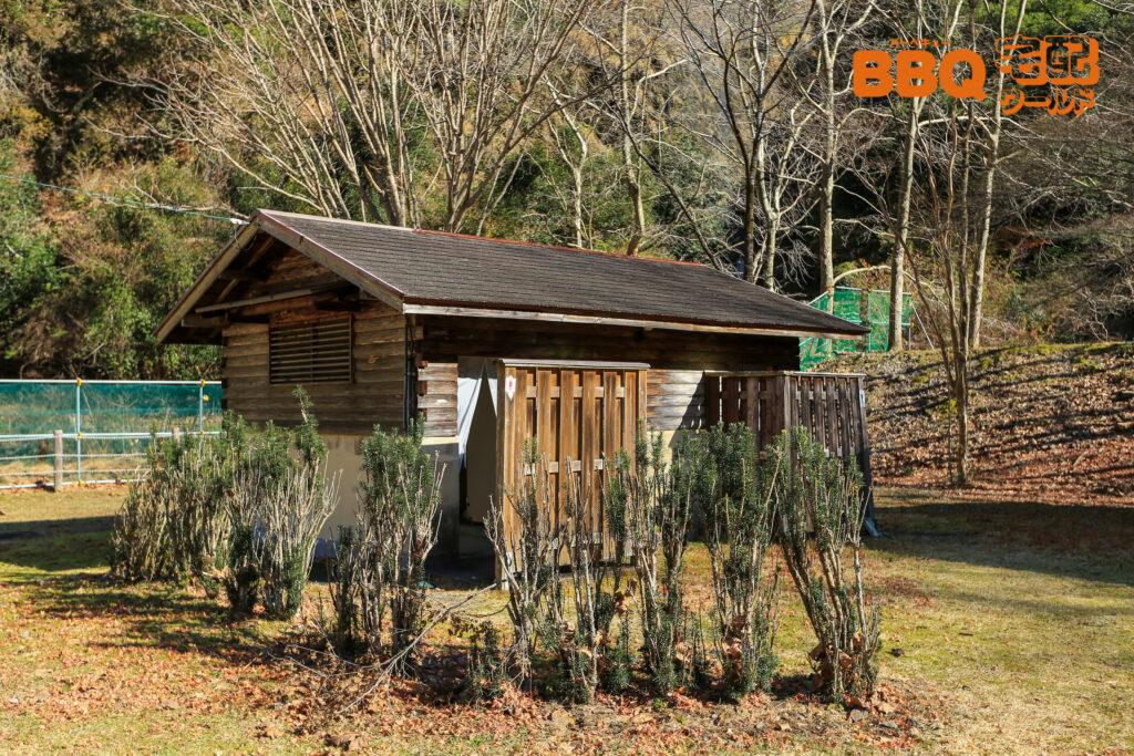 下北山スポーツ公園キャンプ場のトイレ