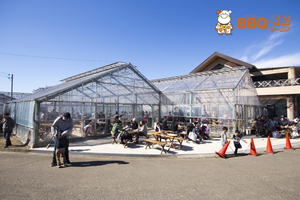 岸和田観光農園のBBQ施設(専用ハウス)